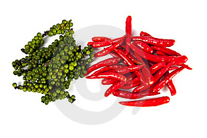Peppercone And Chili Royalty Free Stock Images - Image: 20947799
