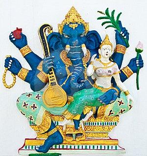 Hindu Ganesha God Named Uchchishta Ganapati Royalty Free Stock Photo - Image: 20947875