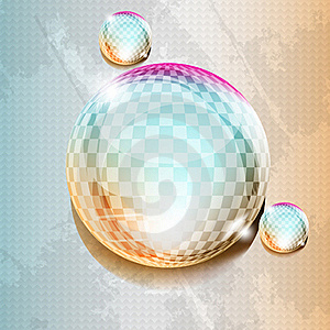Futuristic Dew In Grunge Background Stock Images - Image: 20949354