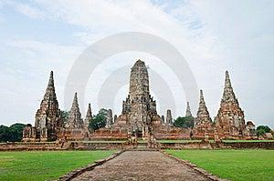 Wat Chai Wattanaram, Ayutthaya, Thailand. Stock Photo - Image: 20950950