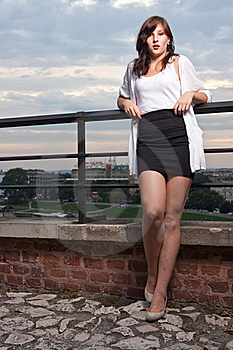 Attractive Model At Sunset Stock Images - Image: 20951544
