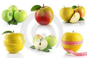 Set Of Apple Royalty Free Stock Photography - Image: 20952027