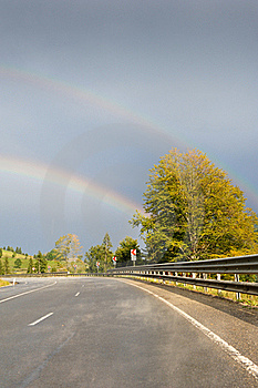 Road To The Rainbow Stock Images - Image: 20958104