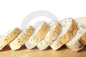 Sliced Sesame Bred Royalty Free Stock Image - Image: 20961096