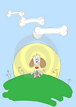 Hunddröm Royaltyfri Foto - Bild: 20963975