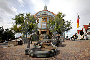 German Village City Hall Stock Photography - Image: 20966522
