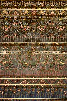 Thai Art Painting On Wall Stock Photos - Image: 20967003