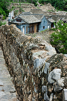 The Old Brick House Of The Ancient Village Royalty Free Stock Photos - Image: 20967098