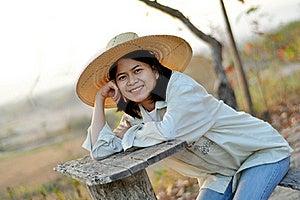 农夫夫人 免版税库存照片 - 图片: 20975865