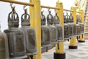 Temple Bells Royalty Free Stock Photography - Image: 20976047