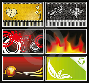 Miscellaneous Card Collection Royalty Free Stock Images - Image: 20976359