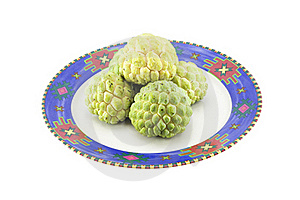 Custard Apples Group Royalty Free Stock Images - Image: 20978939