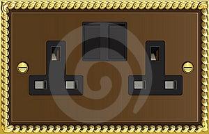 Fancy Plug Socket Outlet Stock Photos - Image: 20979863