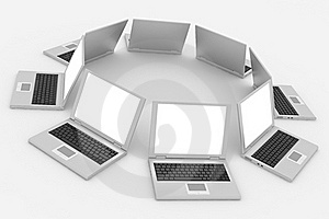 Abstract Computer Network And Database. Concept. Stock Photos - Image: 20980553