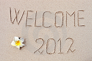 2012 On The Beach Stock Images - Image: 20984584