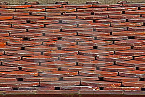Tile Roof. Royalty Free Stock Images - Image: 20985579
