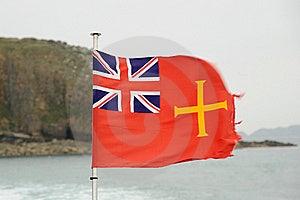 Guernsey Maritime Flag Stock Photos - Image: 20985723