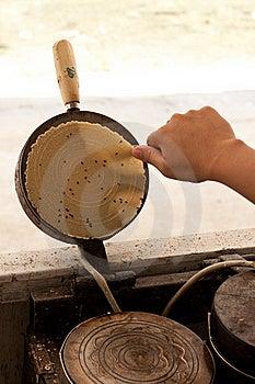 Kind Of Thai Sweetmeat,coconut Stick Stock Image - Image: 20987971