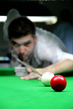 Playing Snooker Stock Photography - Image: 20993232