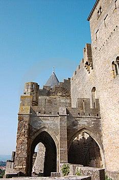 Walls Of Carcassonne Royalty Free Stock Image - Image: 20994566