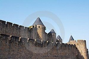 Walls Of Carcassonne Stock Photo - Image: 20998890