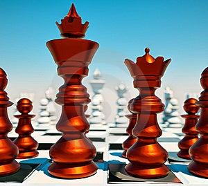 Chess Battle Royalty Free Stock Image - Image: 20999566