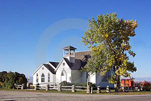 Little White Church Free Stock Images
