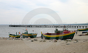 Old Fishing Boats #2 Free Stock Photography