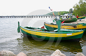 Old Fishing Boats Free Stock Photo