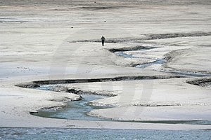 Mud Flats Free Stock Photography