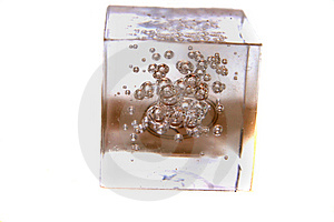 Bubbel icecube Royalty Free Stock Photo