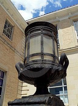Riesige Lampe Stockfoto