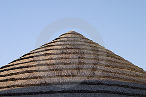 Straw Roof Free Stock Photo