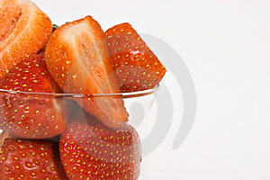 Ripe Juicey Strawberries Free Stock Photography