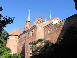 Frombork no Polônia Imagem de Stock Royalty Free