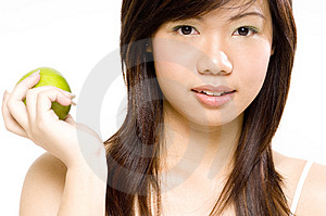 Healthy Girl 4 Stock Image
