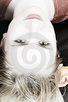 Blond girl 7 Stock Images