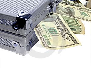 Case of Money Royalty Free Stock Image