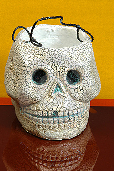 Cranio di Halloween Immagine Stock