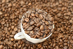 Full Cup Of Coffee Stock Photography - Image: 2101552