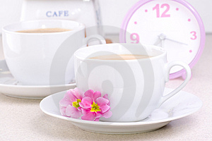 Morning Drink Royalty Free Stock Image - Image: 2103596