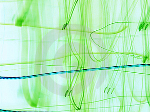 Green Abstraction Stock Image - Image: 2103781