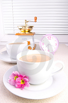 Morning Coffe Royalty Free Stock Image - Image: 2106316