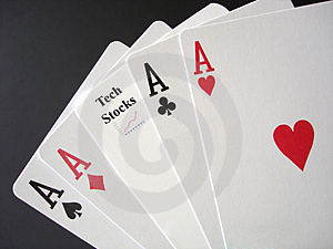 Gambling On Tech Stocks Stock Photos - Image: 2107153