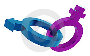 Homme Femme Symbol Royalty Free Stock Image - Image: 21000366