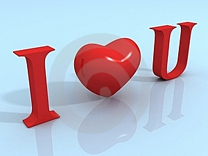 I Love You Royalty Free Stock Images - Image: 21000399