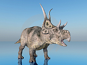 Dinosaur Diabloceratops Stock Photography - Image: 21001712