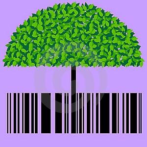 Barcode Eco Royalty Free Stock Photo - Image: 21001715