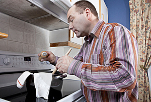 Bad Cook Stock Photos - Image: 21004953