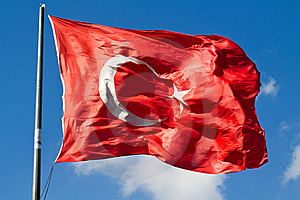 Turkish big flag